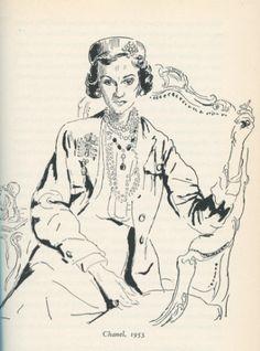 Coco Chanel (1953, by Cecil Beaton) #CocoChanel Visit espritdegabrielle.com | L'héritage de Coco Chanel #espritdegabrielle