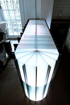 LED Acrylic bar inspiration | www.peregrineplastics.com