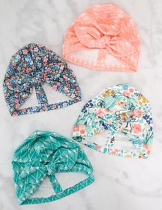 Best 11 Learn How to Easily Create A Knotted Turban Style Baby Hat with This Step-by-Step Photo Tutorial. I'm so excited to share this Knotted Turban Baby Hat that I based on my Top Knot Baby Knit Hat Pattern with you today! It's so easy to make, and it's Pattern Baby, Baby Hat Patterns, Sewing Patterns Free, Free Sewing, Pattern Sewing, Knitting Patterns, Clothes Patterns, Beanie Pattern, Dress Patterns