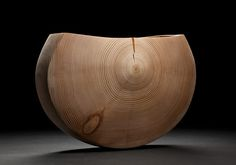 Bill Luce crafts incredible vessels from various woods using some unusual techniques but mainly turning, sometimes working with green wood and also using sand blasting and carving. Japanese Woodworking, Wood Bowls, Wooden Art, Wood Lathe, Wood Sculpture, Wood Turning, Crafts To Sell, Wood Projects, Woodworking Projects