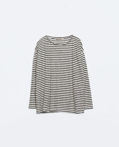 ZARA - WOMAN - LONG SLEEVE T-SHIRT