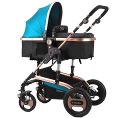 229.89$  Buy now - http://ali4k1.worldwells.pw/go.php?t=32705665080 - Baby Stroller 3 In 1 Foldable Stroller Foldable Stroller Aluminium Baby Carriage Push Car Stokke Poussette Buggy 229.89$