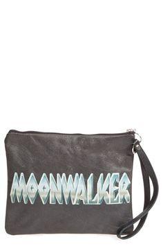 Ashley Williams 'Moonwalker' Leather Clutch
