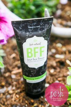 "BFF (best face forever) face wash from ""Look Natural"" line."