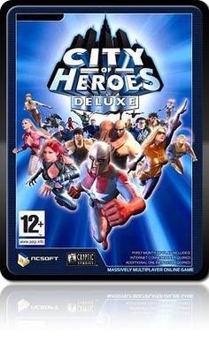 City of Heroes - one of the best games that ever existed. I miss my digital City...