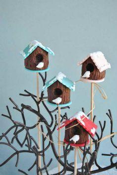 Bird House Cake Pops