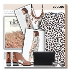"""""""animalprint - lucluc 1/3"""" by bynoor ❤ liked on Polyvore"""