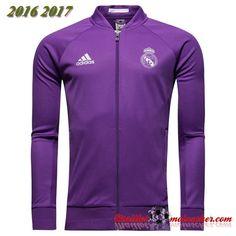Nouveau Veste Real Madrid Pourpre 2016/2017:fr-moinscher