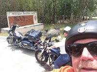 The Wandering  Soldier : Motorcycle Ride to Key Biscayne National Park and ...