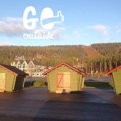 Activity Park in Levi Ski Resort. Lapland Finland. Just waiting for a snow ....