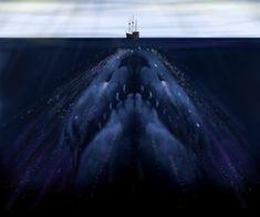 Caraca sea monster by f-Stopped.deviantart.com on @deviantART
