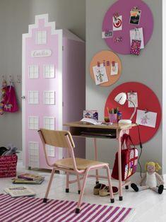rosa haus coole schrank designs im kinderzimmer