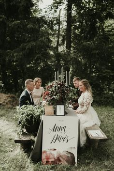 We love how low key and charming this Latvia wedding is! | Image by Miks Sels Photography