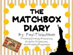 Everything you need for a complete literature study of The Matchbox Diary by Paul Fleischman. The perfect picture book on immigration to share with all ages!There are many ways that you can use these resources. You can copy as an entire packet or you can copy pages individually!
