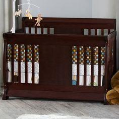 NurserySmart Chelsea 4 in 1 Convertible Crib in Cherry - Click to enlarge