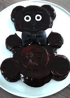 Mr bear tout en chocolat