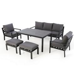 Simply lounge back and relax this summer with our range of garden sofa sets. Garden Sofa Set, Garden Dining Set, Contemporary Design, Modern Design, Corner Dining Set, Rattan Garden Furniture, Bistro Set, 3 Seater Sofa, Madrid