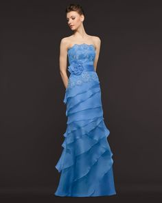 Cheap Charming Sheath/Column Strapless Beading&Sequins Lace Floor-length Organza Prom Dresses From Highly Praised Online Shop