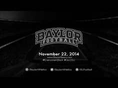 #Baylor Football's #EveryoneInBlack hype video will give you chills. #SicEm