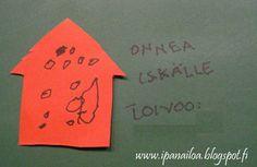 askartelua: isänpäivä, talokortti  http://ipanaaskartelua.blogspot.fi/2011/11/isanpaivakortti.html