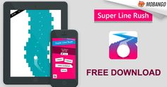 Feel the rush, stay in the line and DO NOT let your fast ball hit the wall. Download Super Line Rush with Multiplayer by Jyri Kilpeläinen from #Mobango Click:http://bit.ly/Mobango_SuperLineRush
