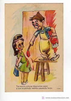 POSTAL SERIE 30 AÑO 1949 (Postales - Niños)
