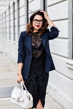 a6a192e5832 Christina of Profesh Style is every bit the sexy librarian in the  Payton !