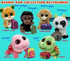Beanie Boos Collection Retired  99528ae22da
