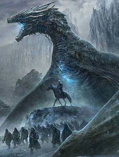 ▷ New Game of Thrones calendar shows the legendary ice spiders for the first time! - game of thrones illustration, a rider with a blue horse, big blue game of thrones dragon - games Dessin Game Of Thrones, Game Of Thrones Artwork, Game Of Thrones Dragons, Game Of Thrones Fans, Ice Dragon Game Of Thrones, Drogon Game Of Thrones, Game Of Thrones Wights, Game Of Thrones Movie, Game Of Thrones Pictures
