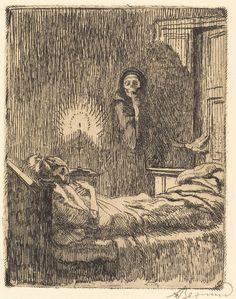 Albert Besnard: Images of Death