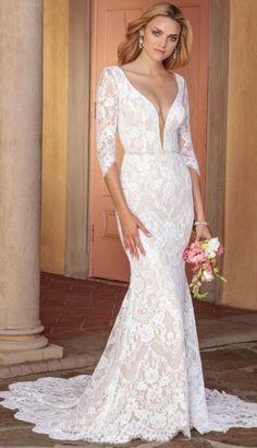 Courtesy ofCasablanca Bridal wedding dresses