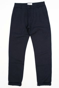 Universal Works Aston Pant Panama Lincott Navy : SUNSETSTAR Edwin Jeans, Universal Works, Slim Chinos, Red Wing Shoes, Japanese Denim, Workout Accessories, Vintage Inspired Dresses, Summer Collection, Dress Making