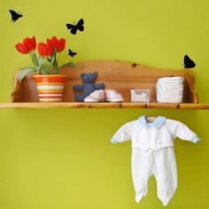 Butterfly Decals - These are so cute!