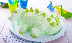 Tort Dinozaur  -  Zielony dinozaur ożywi dziecięce przyjęcia