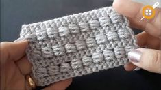 This video tutorial covers how to make the beautiful crochet bead stitch. Not only is easy and exciting to crochet, but it works well for so many projects. Puff Stitch Crochet, Crochet Stitches Free, Crochet Bear, Bead Crochet, Tunisian Crochet, Crochet Flower Patterns, Crochet Blanket Patterns, Stitch Patterns, Knitting Patterns
