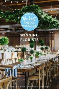 Find the best wedding florists in your area on The Knot Best of Weddings 2018 list.