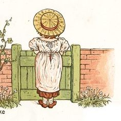 Heigh ho!—time creeps but slow: I've looked up the hill so long - Under the Window, 1879