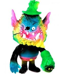 Name: Platform: Marty The MagicianArtist: Bwana SpoonsManufacturer: Toy Art GalleryMaterial: Sofubi