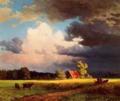 Albert Bierstadt Bavarian Landscape painting is available for sale; this Albert Bierstadt Bavarian Landscape art Painting is at a discount of off. Abstract Landscape, Landscape Paintings, Oil Paintings, Landscape Fabric, Landscape Architecture, Oil Painting On Canvas, Painting & Drawing, Painting Clouds, Painting Gallery