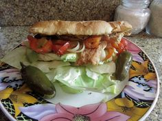 Chicken breast Torta. youtube channel lacocinadelety....mmmm my mouth is salivating..