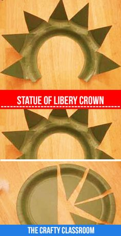 Make your own Statue of Liberty Crown!