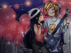 Wild Love - Speed Paint by on DeviantArt Finn And Marceline, Wild Love, Speed Paint, Adventure Time, Deviantart, Anime, Painting, Cartoons, Cartoon