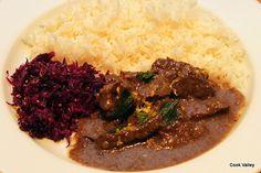 cookvalley - tanker om mad: Indisk Pebercurry med oksekød.