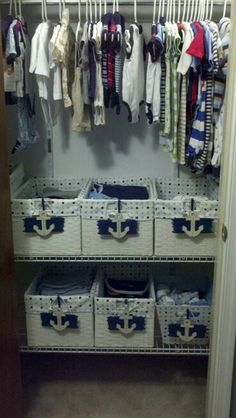Sailor themed closet! Cute :)