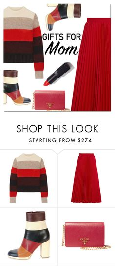 """""""Gift Guide: Your Mom and Sis"""" by danielle-487 ❤ liked on Polyvore featuring rag & bone, Balenciaga, Valentino, Prada, NARS Cosmetics and giftguide"""