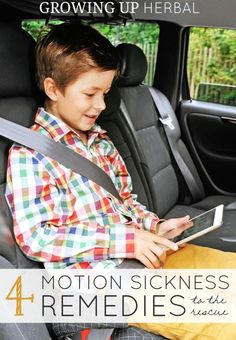 Motion sickness can quickly ruin an otherwise pleasant road trip. These natural remedies for motion sickness are easy and most can be done right in the car!