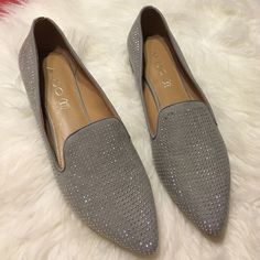 Aldo Taupe Studded Loafers