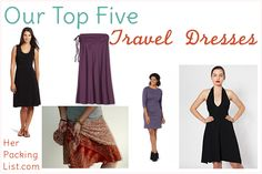 There's nothing like a simple dress to give you travel style. Dresses are comfortable and provide versatility for layering and making multiple outfits. Sometimes us female travelers want to look sexy, feminine and flirty. Here are our picks for the best travel dresses.