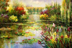Jardín de Monet. -