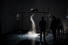 Creator Of Artificial Tornado Machine Makes Experimental Art With Physics